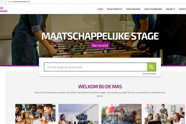 De nieuwe website voor organisaties